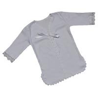"""""""МоёДитё"""" рубашечка крестильная белая """"Вербена"""" Т047"""