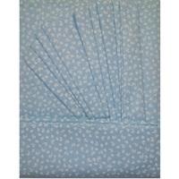 """""""МоёДитё"""" комплект постельного белья из бязи голубой Т027П """"Вербена"""""""