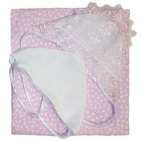 """""""МоёДитё"""" комплект для новорождённого из 8 предметов розовый 182 """"Вербена"""""""