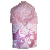"""""""МоёДитё"""" комплект нарядный для новорождённого из 5 предметов розовый 134-2С (весна-осень) """"Вербена"""""""