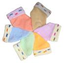 Носки  детские однотонные с отворотом махра снаружи