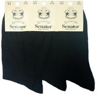 Сенатор носки мужские чёрные А-1