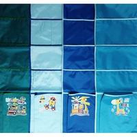 Бим-Бом карман для шкафчика в садик с аппликацией М-33/1 (расцветки для мальчика)