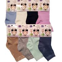 BFL носки на девочек однотонные ассорти