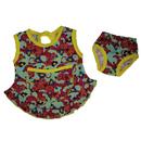"""""""МоёДитё"""" комплект: платье + трусики ПЛТ076 """"Магнолия"""""""