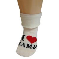 "RuSocks носочки детские ""Я люблю..."" Д-106 шампань"