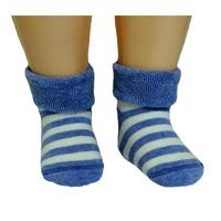 RuSocks носки детские с отворотом внутри махра Д-109