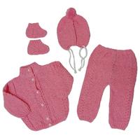"МоёДитё" костюм из 4-х предметов "Дана" розовый "Лотос"