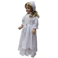 """""""МоёДитё"""" крестильный набор нарядный для девочки Т020С белый """"Вербена"""""""