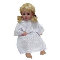 """""""МоёДитё""""  платье крестильное Т016 белое """"Вербена"""""""