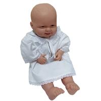 """""""МоёДитё"""" рубашечка крестильная на мальчика Т019 белая """"Вербена"""""""