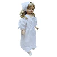 """""""МоёДитё"""" крестильный набор из 2 предметов для девочек белый Т006 """"Вербена"""""""