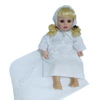 """""""МоёДитё"""" крестильный набор на девочку Т004 белый """"Вербена"""""""