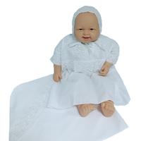 """""""МоёДитё"""" крестильный набор на мальчика Т015 белый """"Вербена"""""""