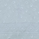 """""""МоёДитё"""" крестильная пелёнка с капюшоном белая Т038 """"Вербена"""""""