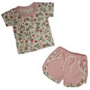 """МоёДитё"" комплект на девочку футболка + шорты КФШ122 ""Магнолия"""