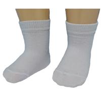 Юстатекс носки детские белые гладкие 3С21