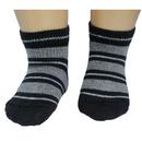 Юстатекс носки детские укороченные в полосочку 3с6