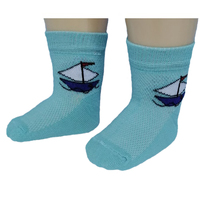 Юстатекс носки детские сеточка на мальчиков 3с24