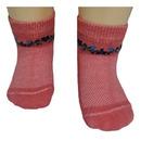 Юстатекс носки детские укороченные в сеточку 3с26