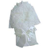 """""""МоёДитё"""" комплект нарядный для новорождённого из 5 предметов шампань 134-2Ш (зима) """"Вербена"""""""