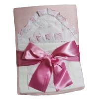 """""""МоёДитё"""" комплект 6 предметов для новорождённого розовый 120ТС-2Ш (зима) """"Вербена"""""""