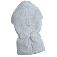 """""""МоёДитё"""" комплект нарядный шитьё 6 предметов для новорождённых белый 127Ш-2С (весна-осень) """"Вербена"""""""
