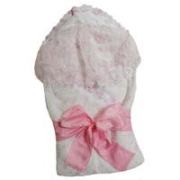 """""""МоёДитё"""" комплект нарядный 6 предметов шитьё для новорождённых розовый 127Ш-2С (весна-осень) """"Вербена"""""""