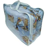 """""""МоёДитё"""" комплект для детской кроватки голубой А40 """"Эрика"""""""