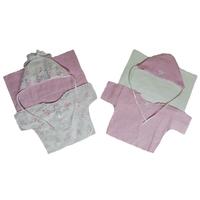 """""""МоёДитё"""" комплект нарядный на выписку 6 предметов Т185 розовый """"Вербена"""""""