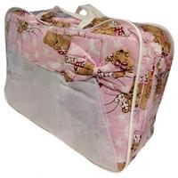 """""""МоёДитё"""" комплект для детской кроватки розовый А40 """"Эрика"""""""