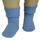 RuSocks носки детские однотонные с отворотом ассорти Д-107