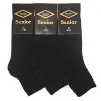 SENIOR носки мужские чёрные М-30